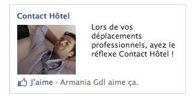 Encart ciblé Contact Hôtel MAI